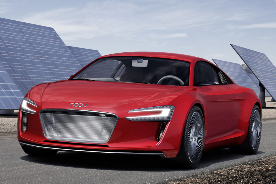 Audi e-tron, el deportivo elctrico de Audi