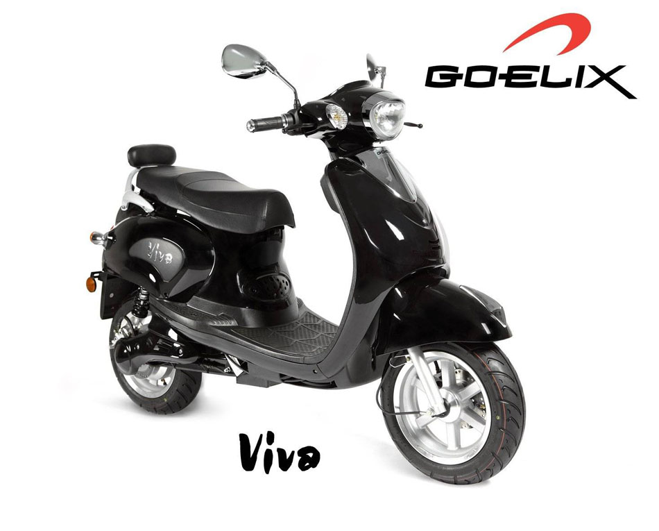 Goelix Viva, scooter elctrico subvencionado por el plan Movele