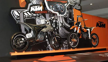Ktm Freeride, presentacin oficial
