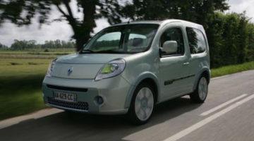 Renault Kangoo be bop Z.E, furgoneta eléctrica