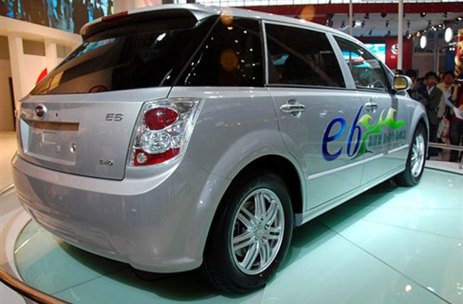 BYD e6 75kw subvencionado por el plan Movele