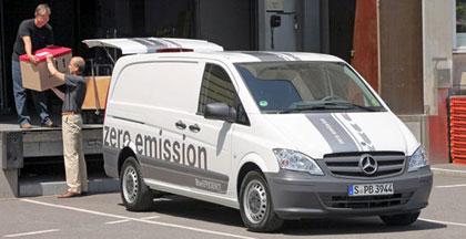 La Mercedes Vito eléctrica (E-CELL)se producirá en Vitoria