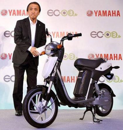 imagen del lanzamiento de la Yamaha EC-03