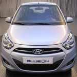 imagen de todo el frontal del Hyundai BlueOn