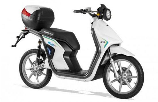 imágen del scooter eléctrico Rieju Mius