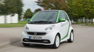 Smart Fortwo Electric Drive a producción