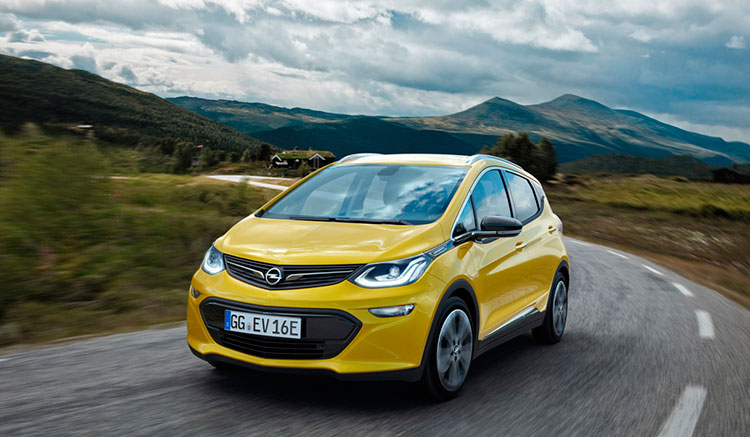 Opel Ampera-e autonomía