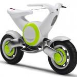 Imagen del prototipo de Yamaha sobre fondo blanco