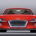 Audi e-tron imagen frontal
