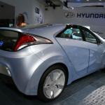 Imagen del Blue-Will concept de Hyundai, expuesto