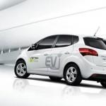 Imagen trasera del modelo Venga EV de kia