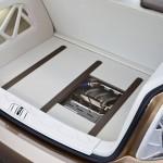 Imagen del maletero del mercedes bluezero e-cell plus.