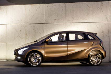Imagen del Mercedes-Benz BlueZero E-Cell Plus