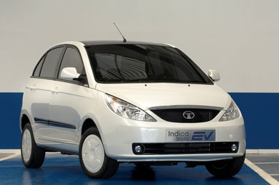 Tata Indica Vista ev imagen frontal