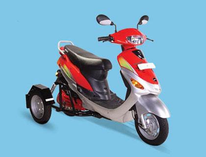 imagen frontal de la moto eléctrica para discapacitados Roamer Able