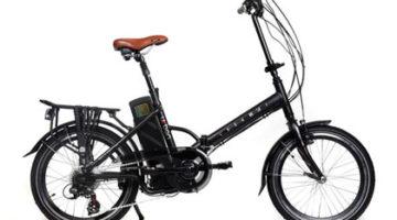 imagen lateral de la Ecobike Urban Plegable, bicicleta eléctrica