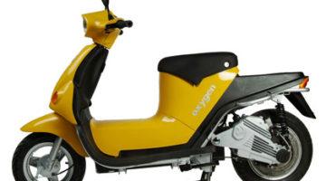 imagen lateral del Oxygen Cargo Scooter sin caja de carga