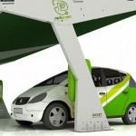 """imagen del """"interior"""" del aparcamiento solar ParkGreen"""