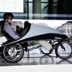 imagen lateral del Klimax triciclo eléctrico