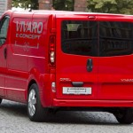 imagen trasera de la Opel Vivaro e-Concept