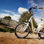 imagen del modelo más exitoso de TranzX, la bicicleta eléctrica Eagle