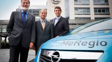El Opel Meriva para el proyecto MeRegioMobil