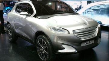 imagen del Peugeot HR1, expuesto en el Salón de París
