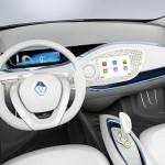 imagen interior del Renault Zoe