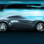 imagen renderizada del Nissan Esflow