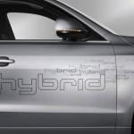 detalle de los laterales del Audi Q5 Hybrid quattro