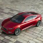 imagen superior del prototipo Ford Evos.