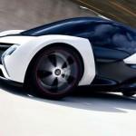 imagen en diagonal del Opel Lightweight.