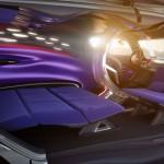 la Citroën Tubik Concept, permite tumbar los asientos traseros para convertirse en una cama.