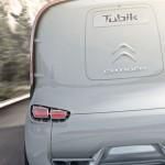 imagen trasera de la Citroën Tubik Concept.