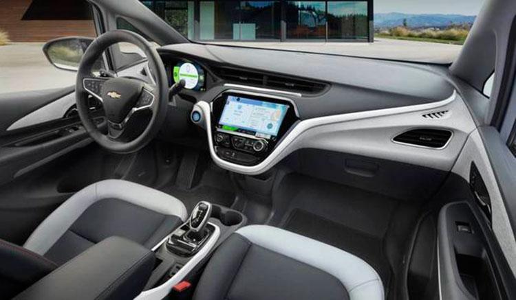 Render donde podemos hacernos una idea de cómo serían los interiores del Opel Ampera-e, a falta de ser presentado oficialmente.