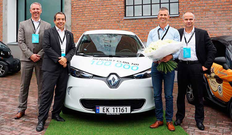 Renault 100.000 coches eléctricos vendidos