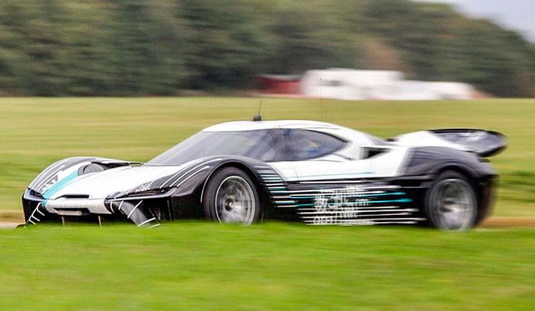 Superdeportivo eléctrico NextEV