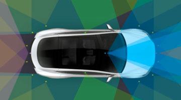 conducción autónoma de tesla