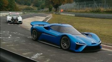 Supercar NextEV Nürburgring