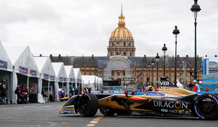 La Fórmula E llega a París
