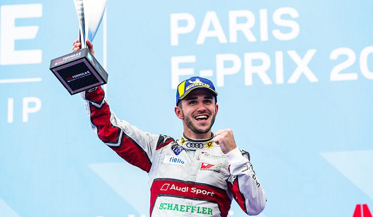 Frijns se corona vencedor en el ePrix de París