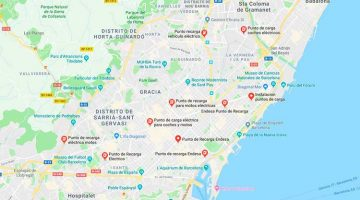 Google Maps mostrará cargadores libres u ocupados