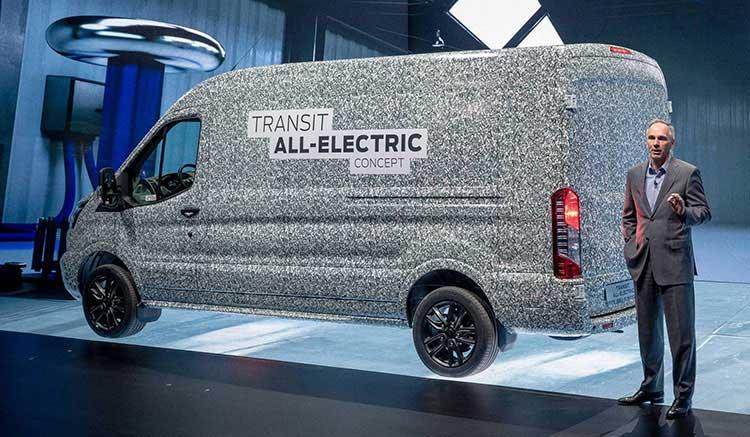La Ford Transit eléctrica llegará en 2021