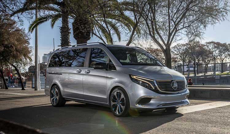Mercedes-Benz EQV en Barcelona