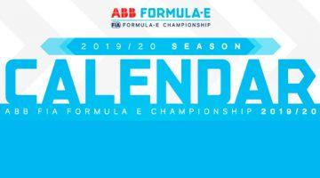 Calendario Fórmula E 2019-2020