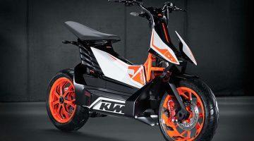 KTM lanzará scooters eléctricos en 2022