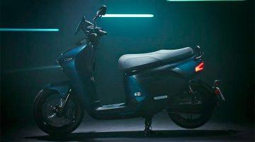 Yamaha presenta el scooter eléctrico, EC-05